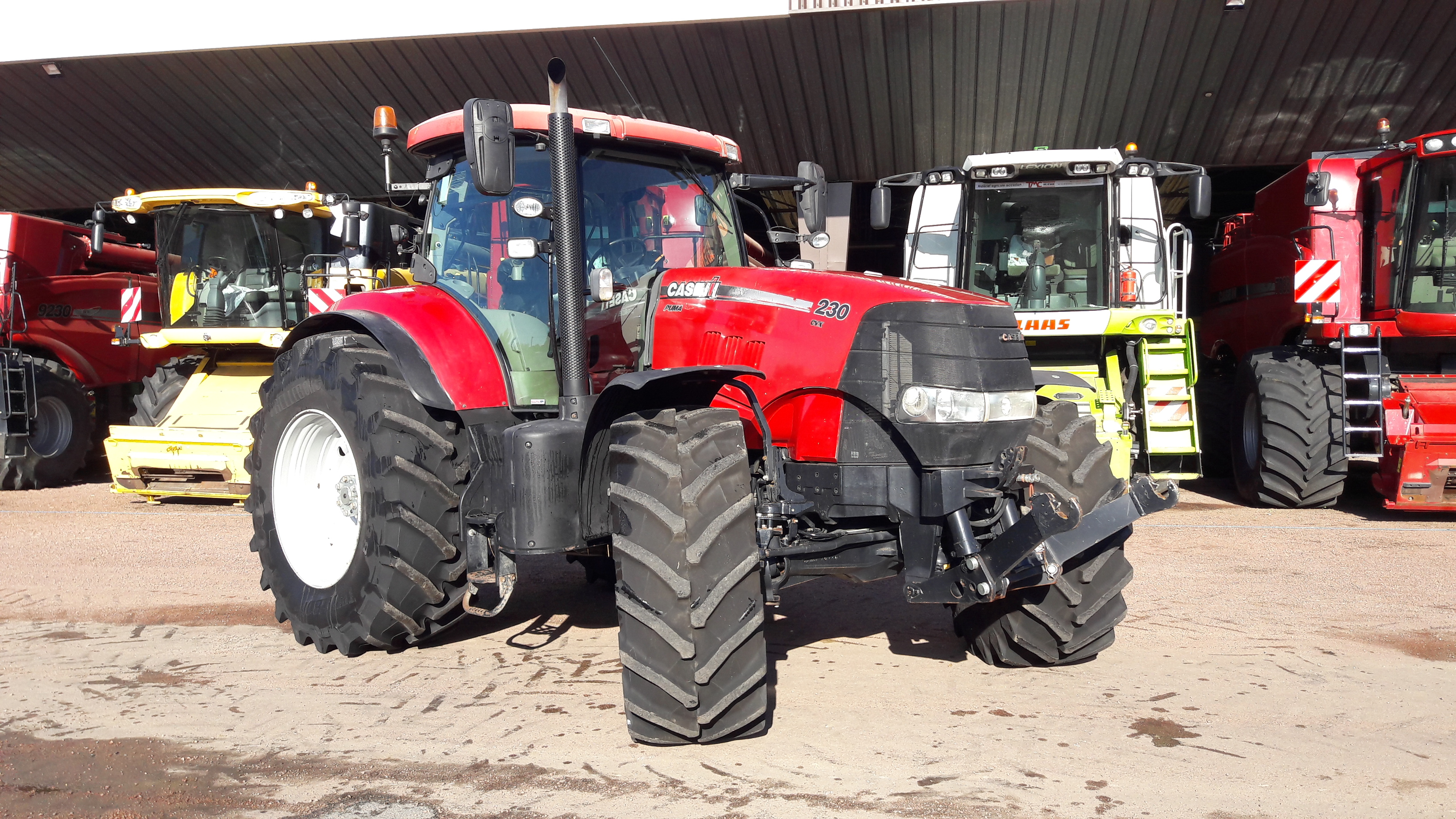 Tracteur Case IH PUMA 230 CVX