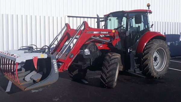 Tracteur Case IH FARMALL 105 U PRO + CHARGEUR
