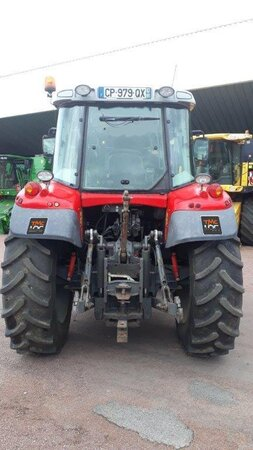Tracteur Massey Ferguson MF 6455