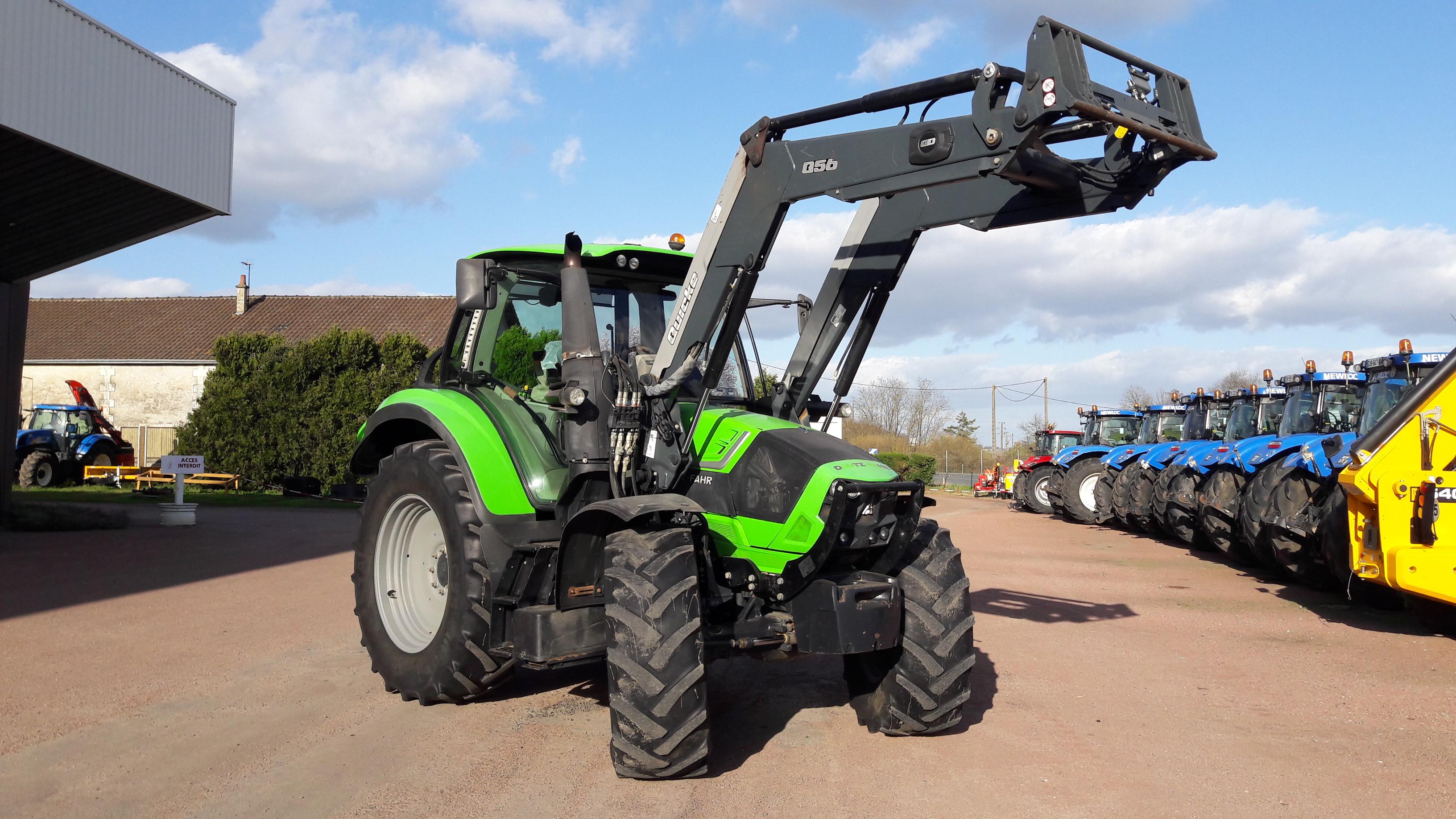 Tracteur + Chargeur Deutz Fahr 6130.4 AGROTRON
