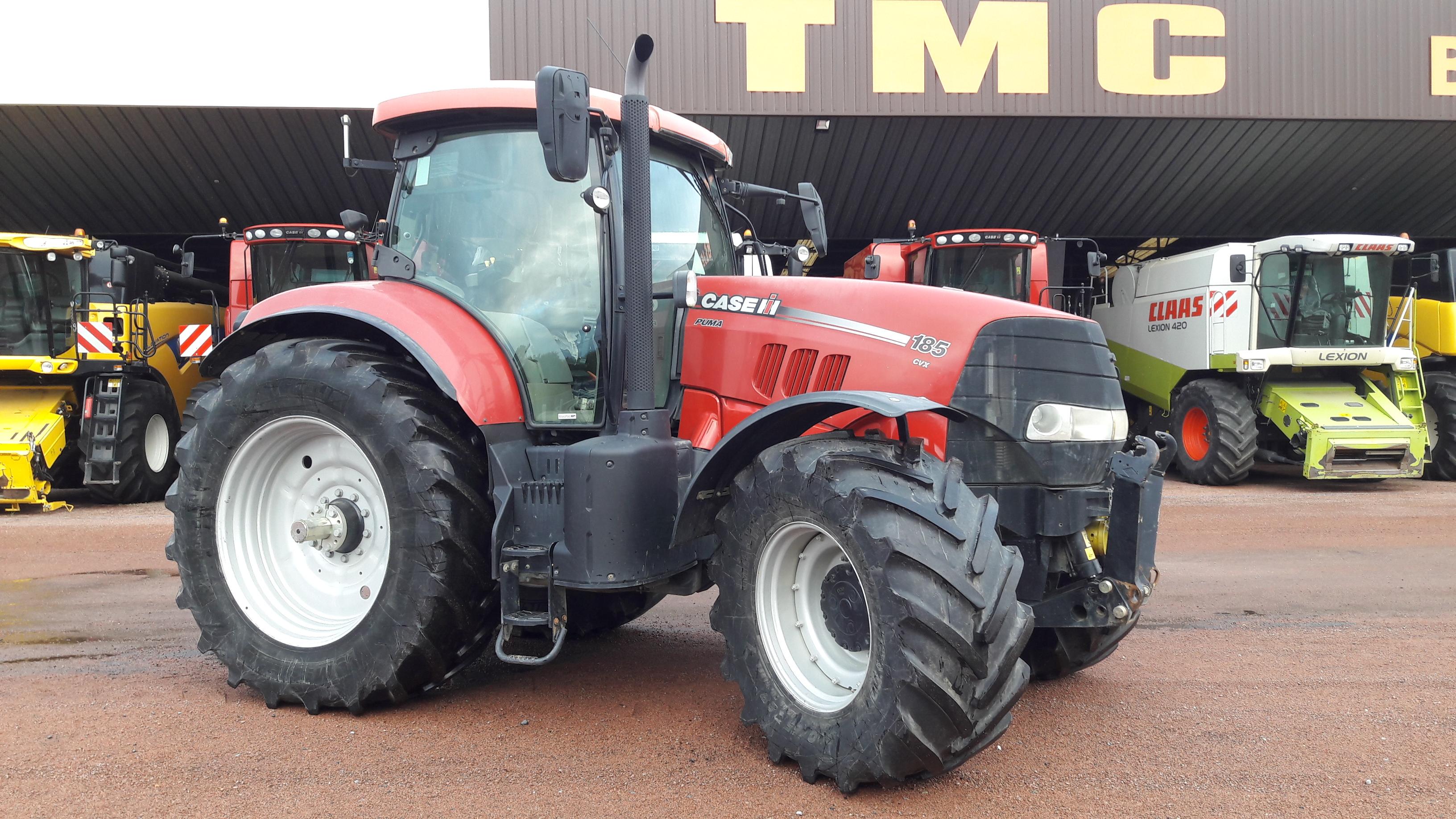 Tracteur Case IH PUMA 185 CVX