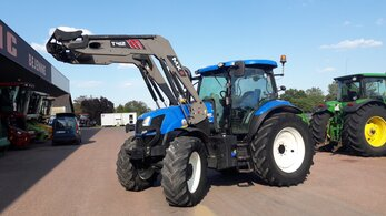 Tracteur + Chargeur New Holland T6.165
