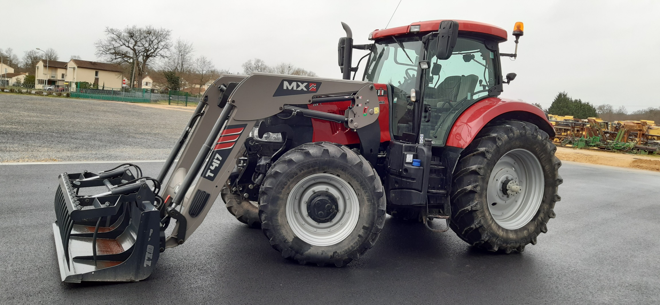 Tracteur chargeur