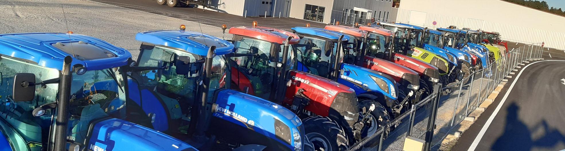 Tracteur de 80 à 140 CV